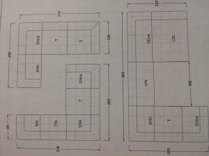 Ocean7: Hier kann jedes Teil einzeln, in der Mitte oder als Abschlusselement stehen und in 33 cm Schritten individuell erweitert werden.