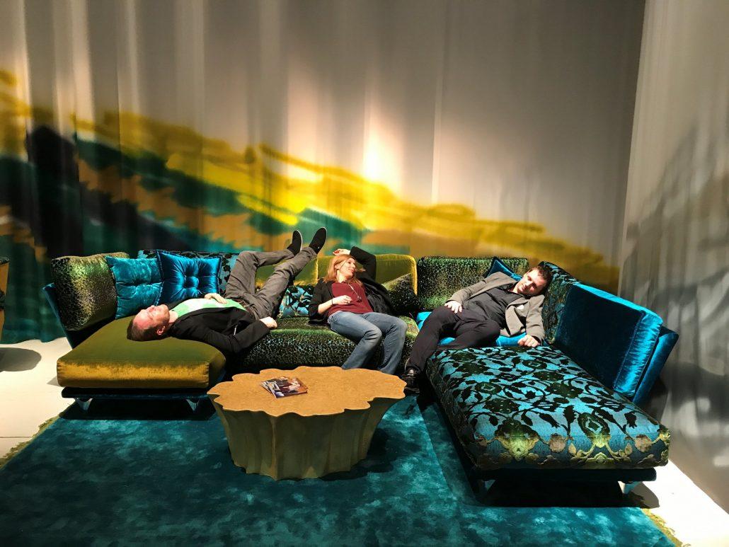 Bretz Köln Möbelmesse IMM 2018 Napßali türkis