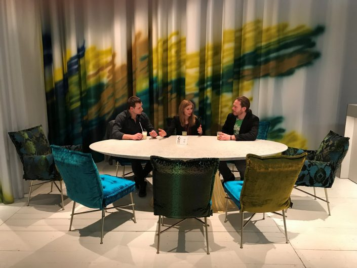 Bretz Köln Möbelmesse IMM 2018 Ohlinda Essgruppe