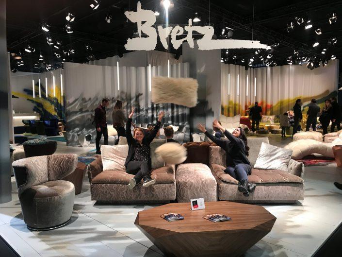 Bretz Köln Möbelmesse IMM 2018 Filousof greige